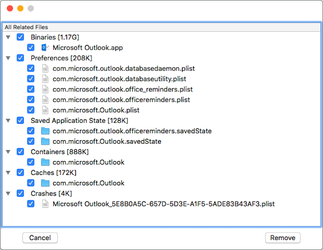 CLAppCleaner Screenshot 2
