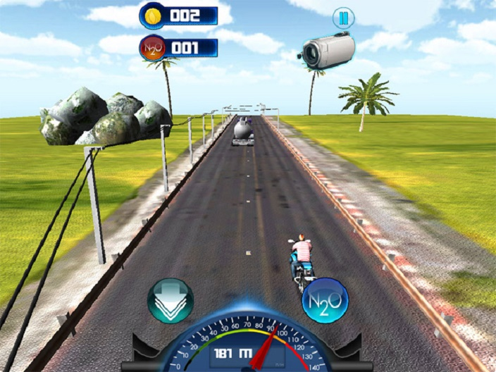 City Moto Racer Screenshot