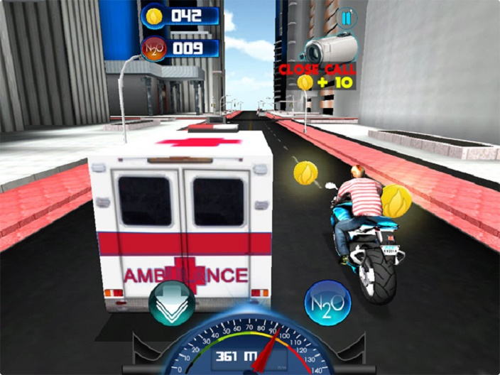 City Moto Racer Screenshot 3