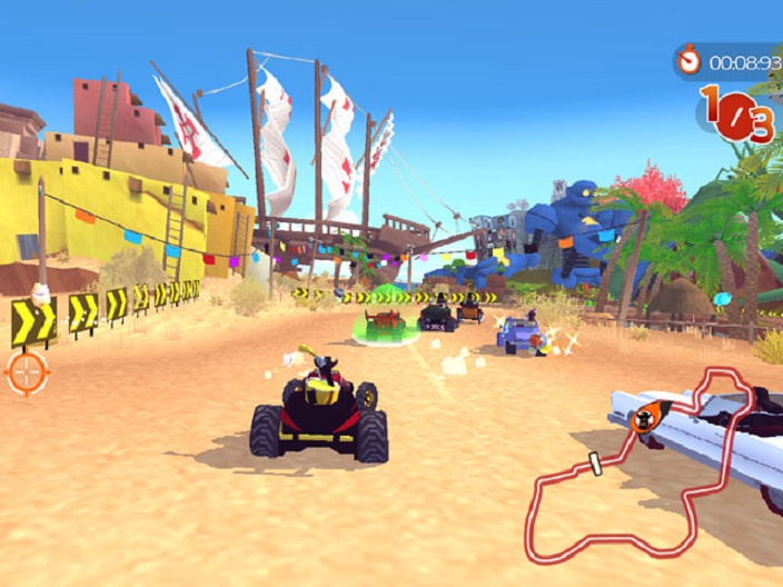 Racers Islands Screenshot 1
