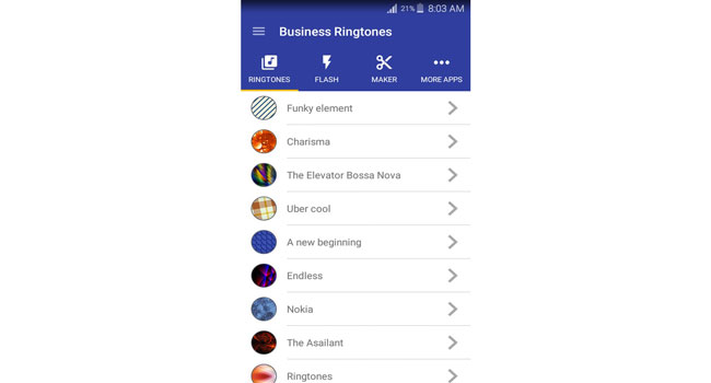 Business Ringtones Screenshot