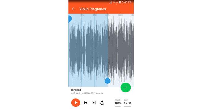 Violin Ringtones Screenshot 5