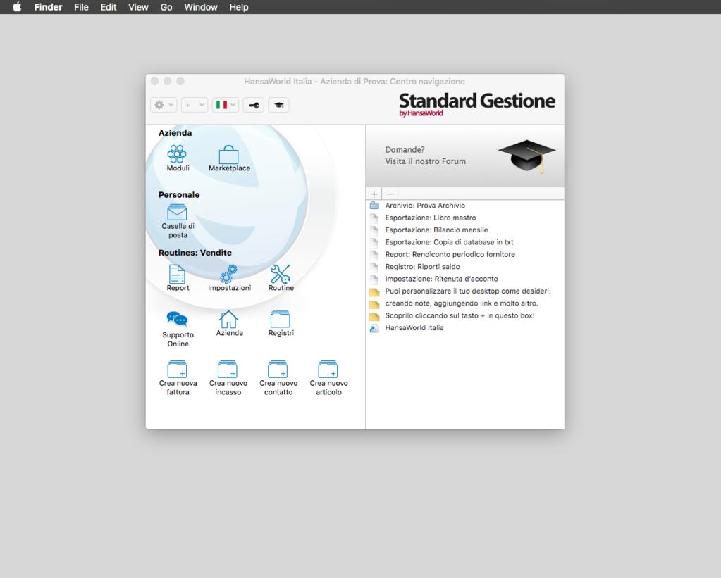 Standard Gestione Screenshot 9