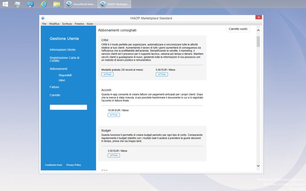 Standard Gestione Screenshot 5