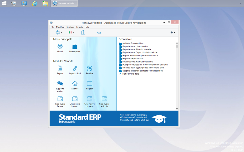 Standard Gestione Screenshot