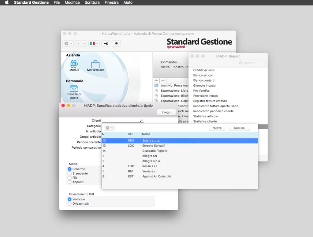 Standard Gestione Screenshot 8
