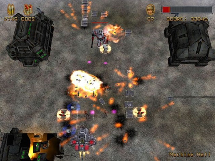 Machine World Terminator Salvation Screenshot