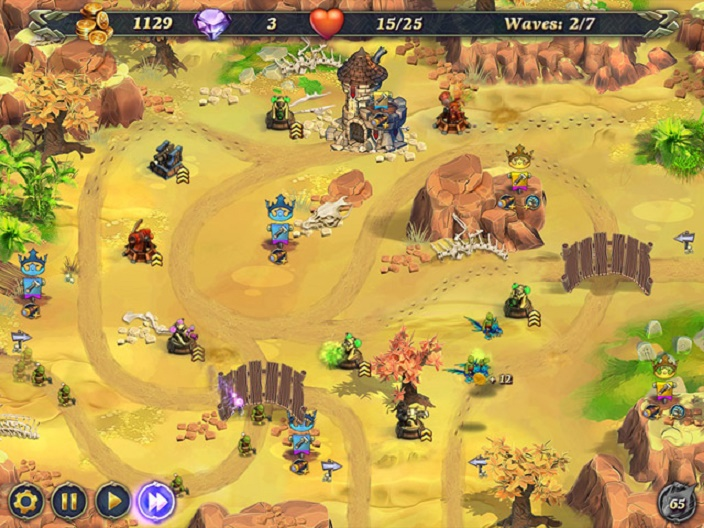 royal defense 2 Screenshot
