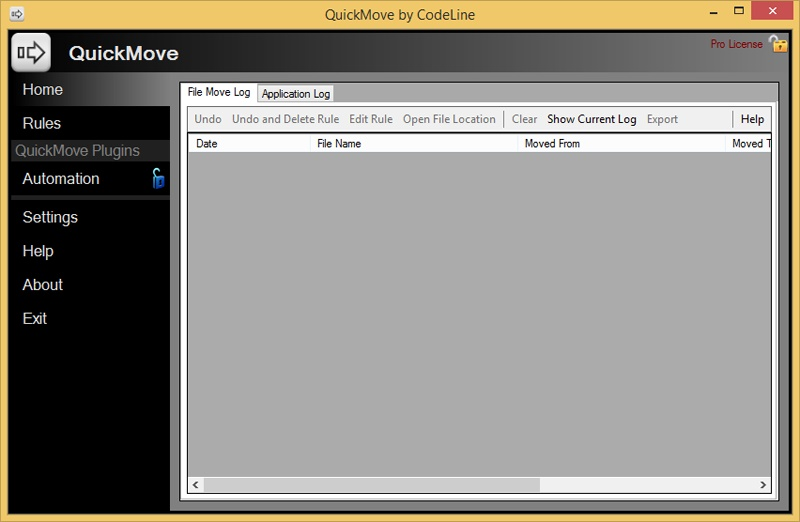 QuickMove Screenshot