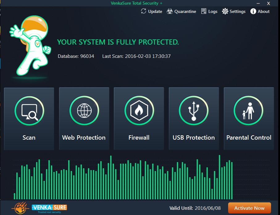 Venkasure Total Security+ Screenshot