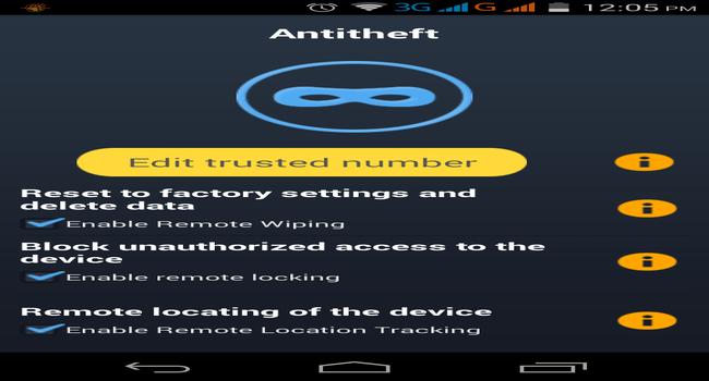 Venkasure Mobile Total Security+ Screenshot 1