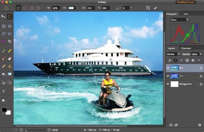 PixelStyle Photo Editor for Mac Screenshot 6