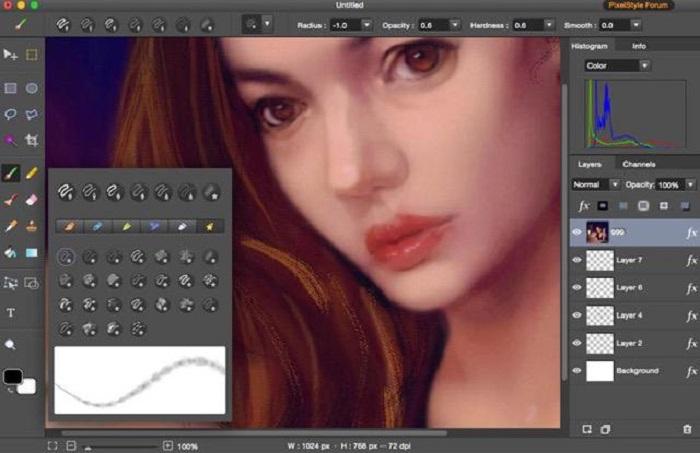 PixelStyle Photo Editor for Mac Screenshot 5