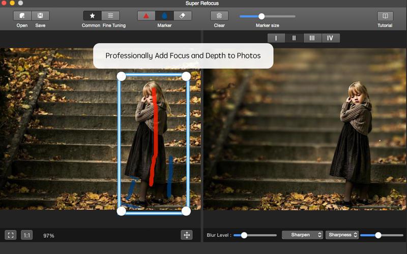 Super Refocus for Mac Screenshot 3