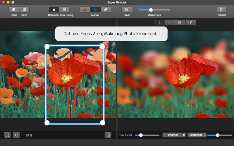 Super Refocus for Mac Screenshot