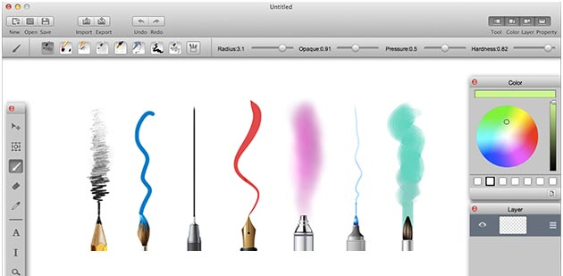 MyBrushes Paint for Mac Screenshot