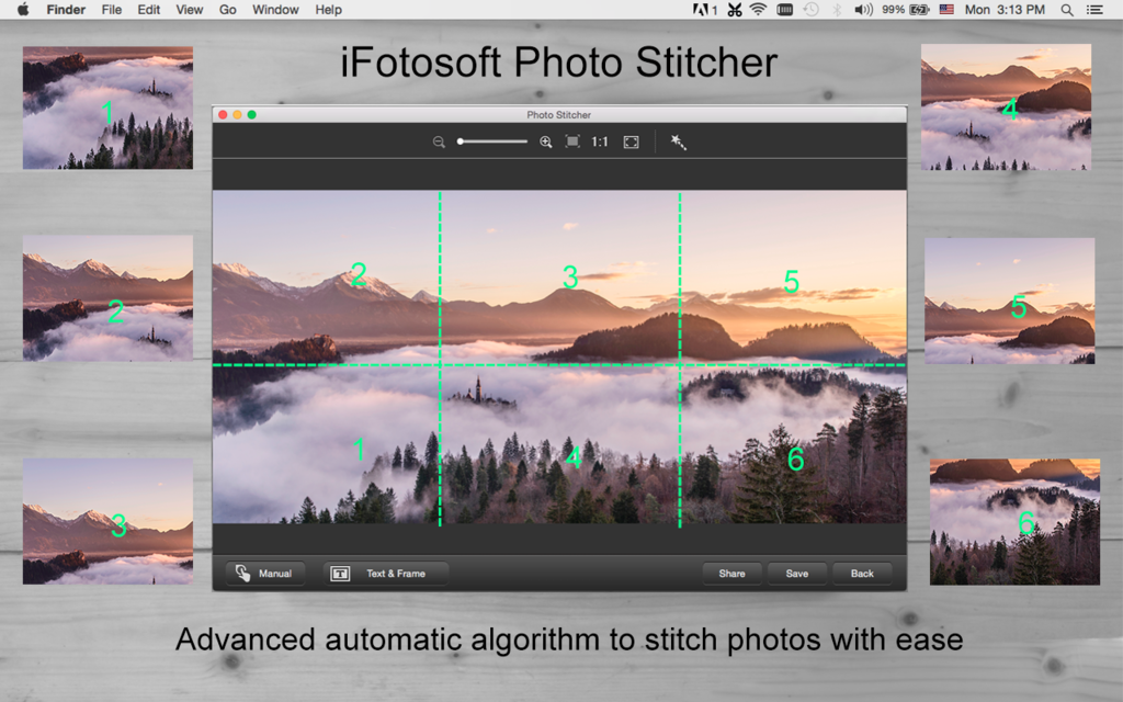 iFotosoft Photo Stitcher for Mac Screenshot 4