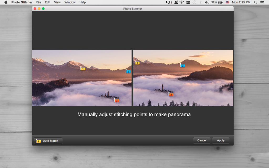 iFotosoft Photo Stitcher for Mac Screenshot 3