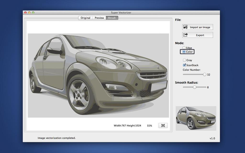 Super Vectorizer for Mac Screenshot 2