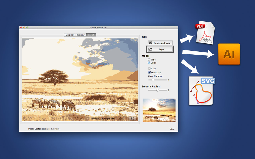 Super Vectorizer for Mac Screenshot 5