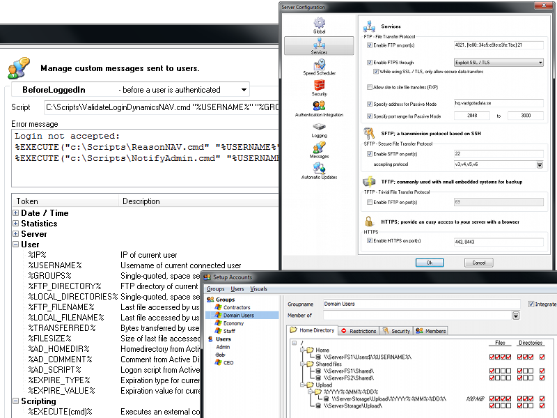 zFTPServer Suite Screenshot 1