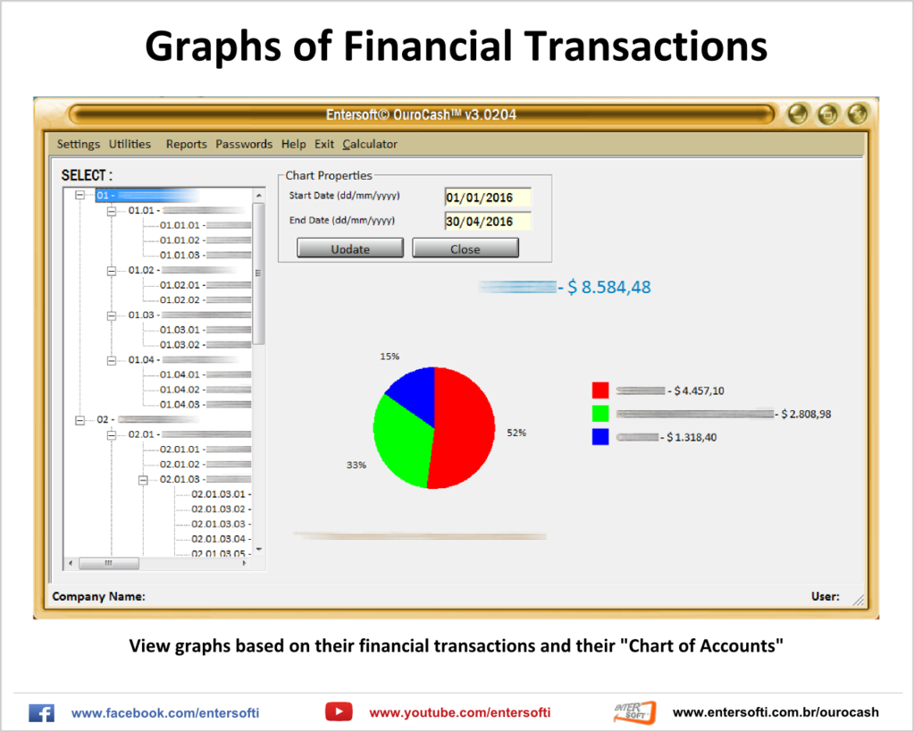 Entersoft OuroCash - System for Financial Control Screenshot 3