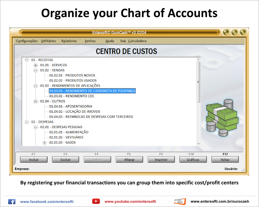 Entersoft OuroCash - System for Financial Control Screenshot 2