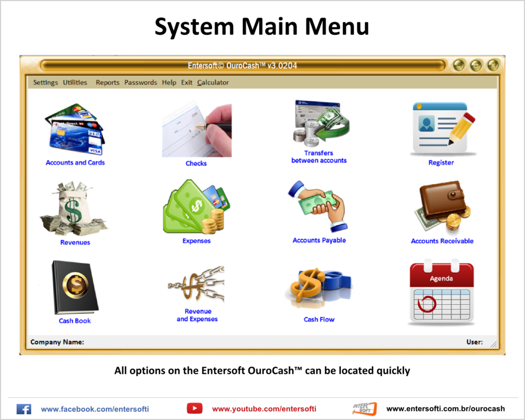 Entersoft OuroCash - System for Financial Control Screenshot 1