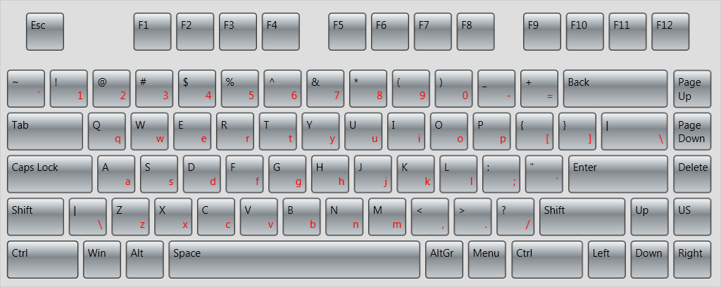Virtual Keyboard for WPF Screenshot 1