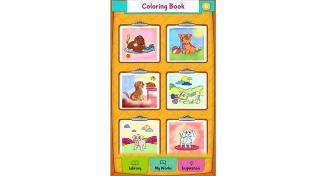 Dog Coloring Pages Screenshot 1