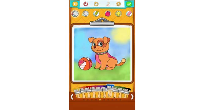 Dog Coloring Pages Screenshot 2