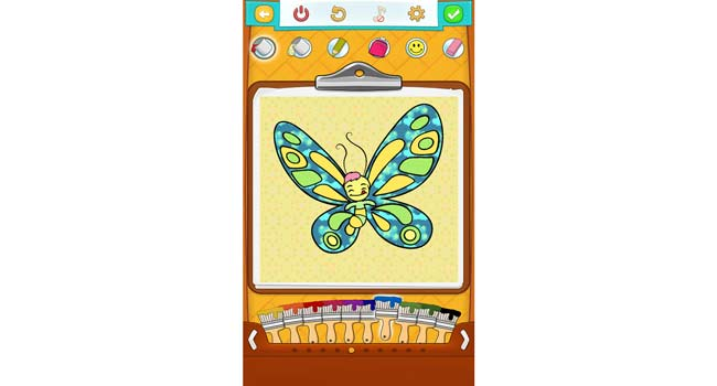Butterfly Coloring Pages Screenshot 2