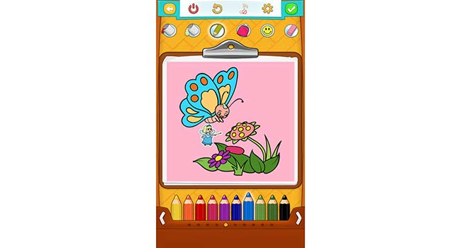 Butterfly Coloring Pages Screenshot 3
