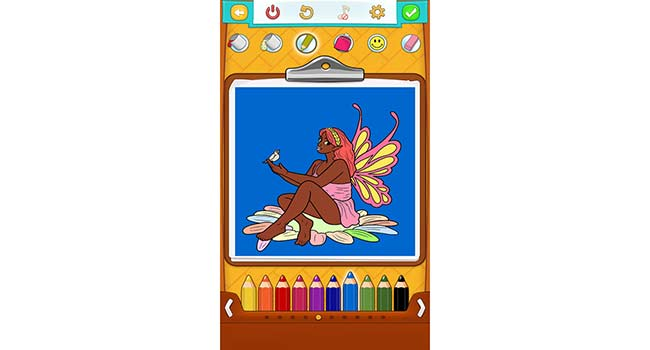 Fairy Coloring Pages Screenshot 3