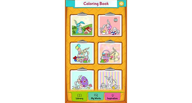 Easter Coloring Pages Screenshot
