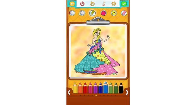 Princess Coloring Pages Screenshot 3