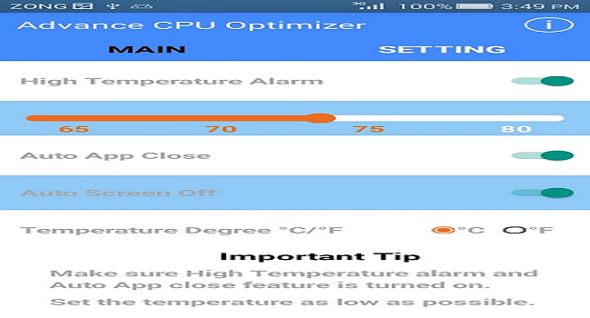 Best CPU Optimizer Screenshot