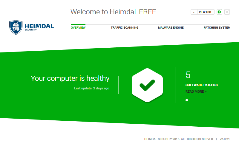 Heimdal FREE Screenshot