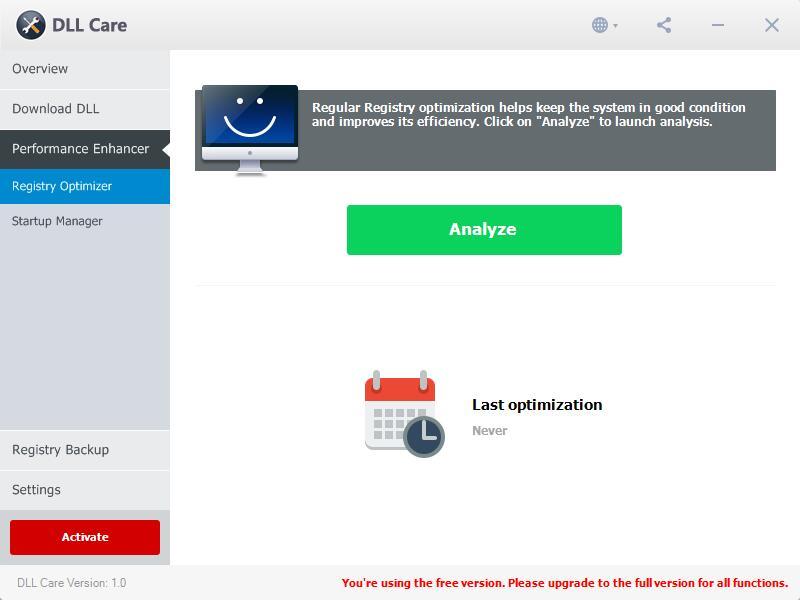 DLL Care Screenshot 3