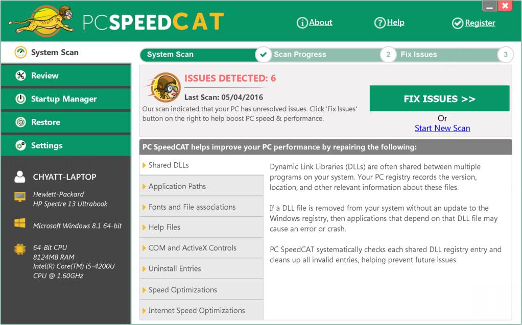 PC SpeedCAT Screenshot 6