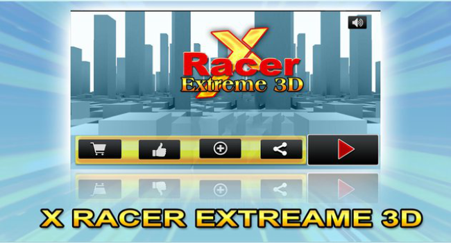 X Racer Extreme 3D Screenshot 2