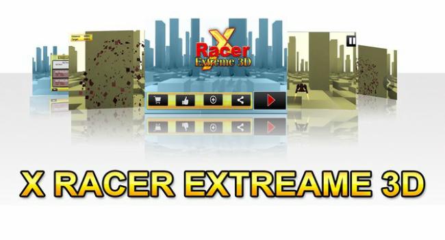 X Racer Extreme 3D Screenshot 3