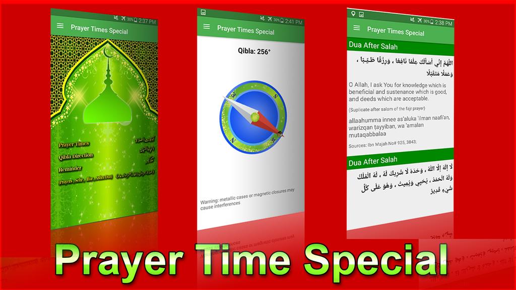 Prayer Times Special Screenshot 1