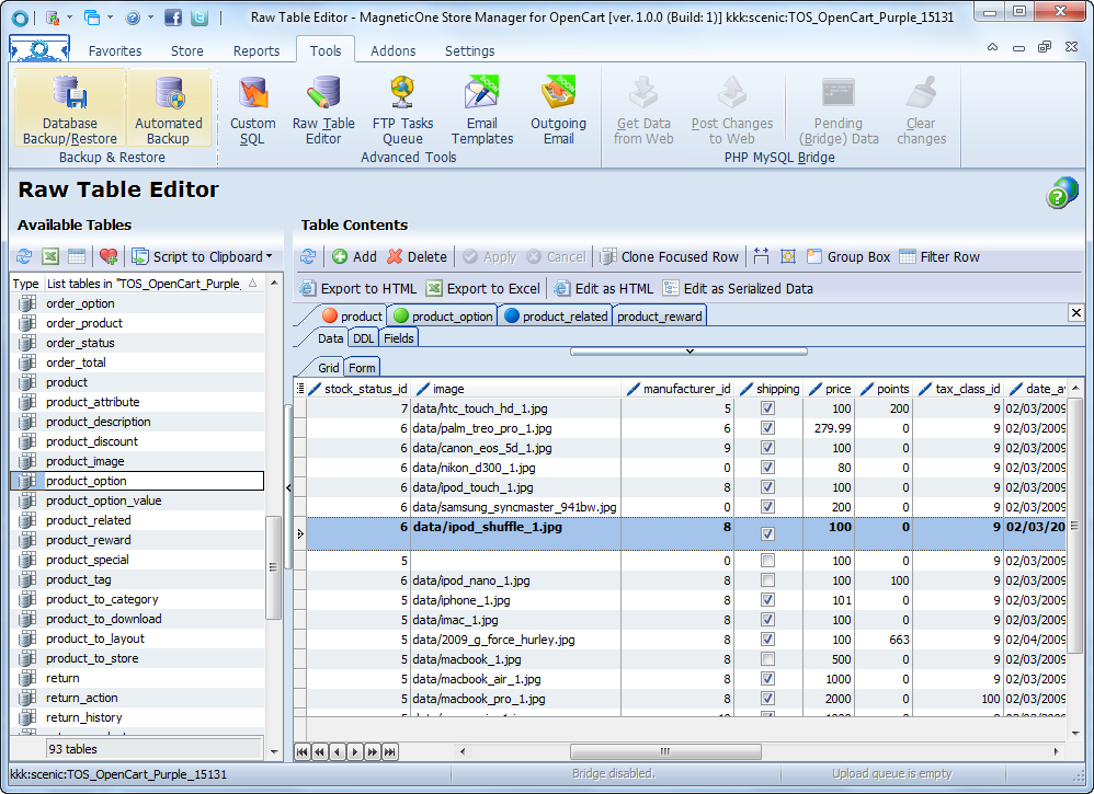 Store Manager for OpenCart Screenshot 9