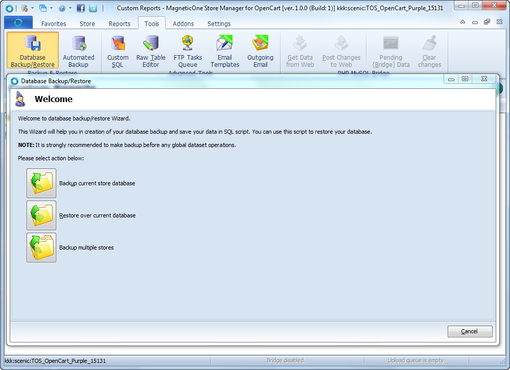 Store Manager for OpenCart Screenshot 7