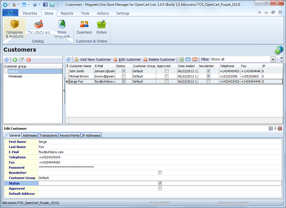Store Manager for OpenCart Screenshot 5