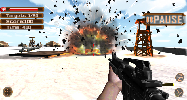 Commando Battle Game Screenshot