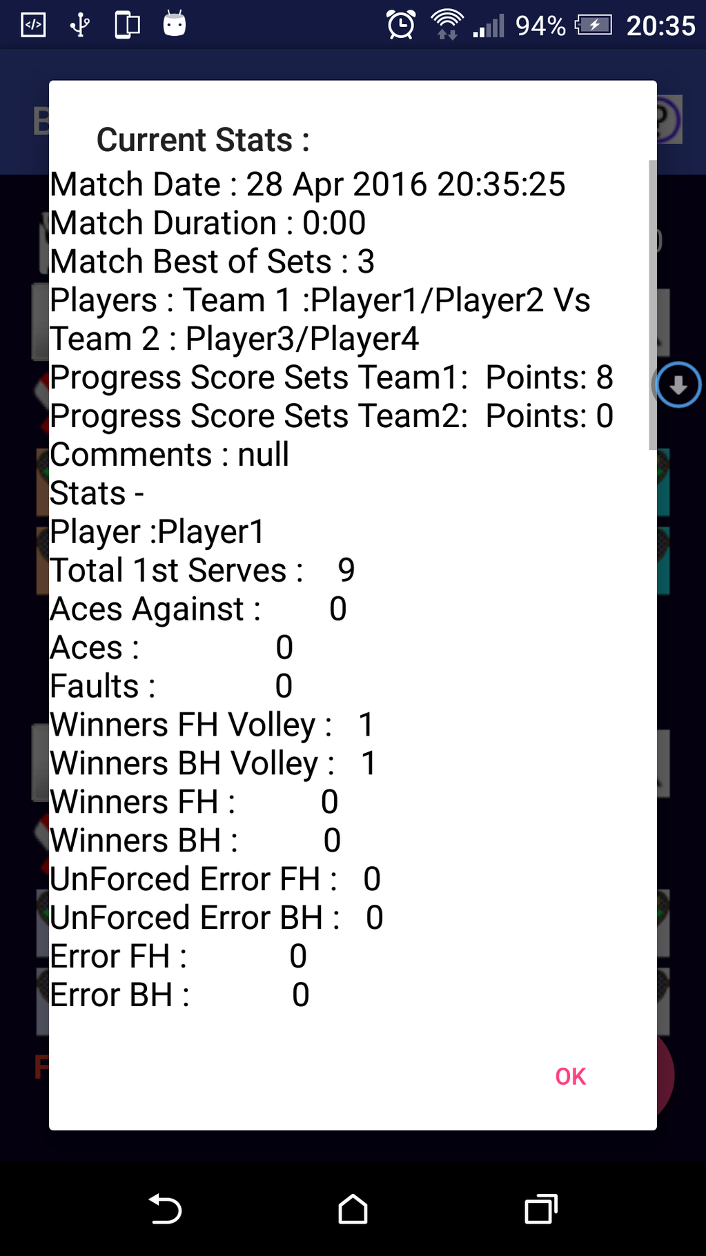 Badmin Scorer Screenshot 6
