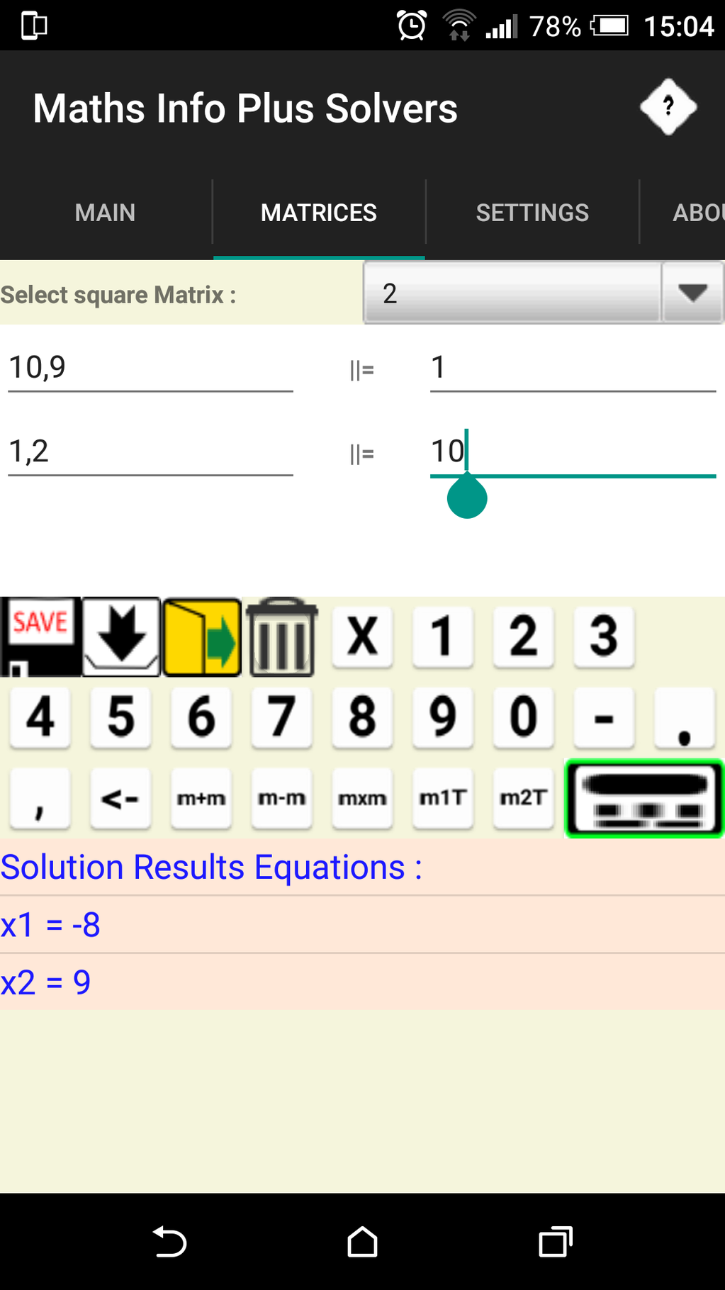 Maths Info And Solvers free Screenshot 4