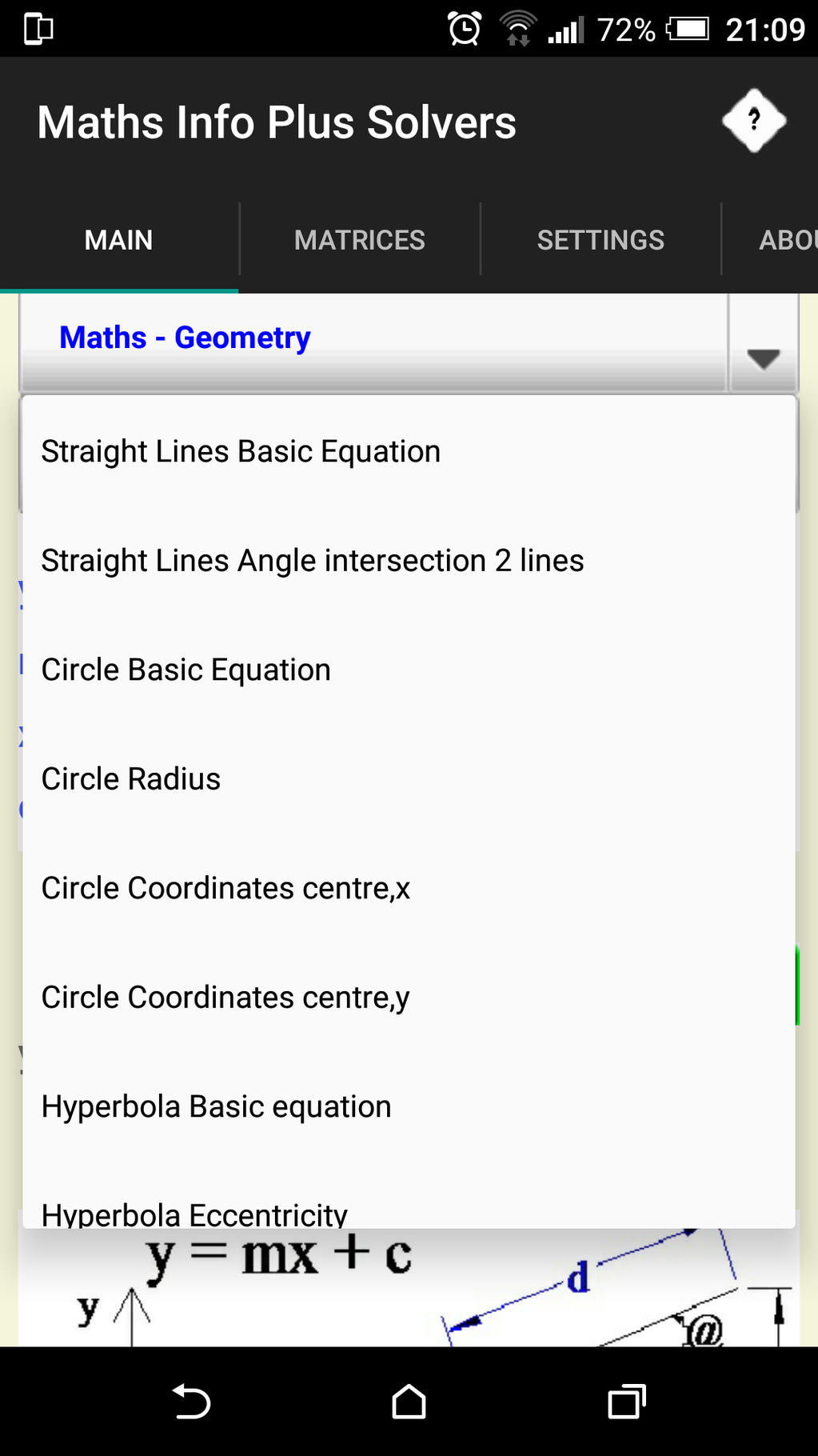 Maths Info And Solvers free Screenshot 7